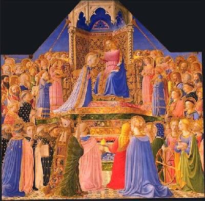A coroação da virgem
