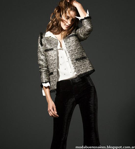 Awada chaquetas tweed invierno 2013