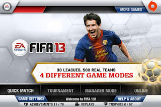 FIFA 13 for iOS Devices