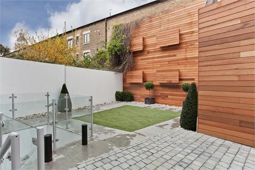 Casas minimalistas y modernas patios modernos ii for Patios minimalistas modernos