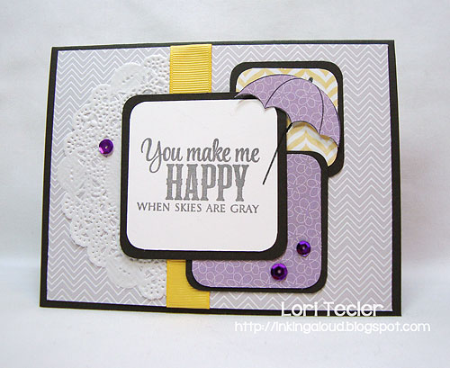 You Make Me Happy-designed by Lori Tecler-Inking Aloud-stamps from Verve Stamps