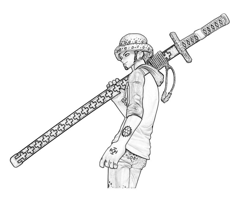 one-piece-trafalgar-law-look-coloring-pages