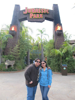 California Universal Studios Hollywood Jurassic Park The Ride
