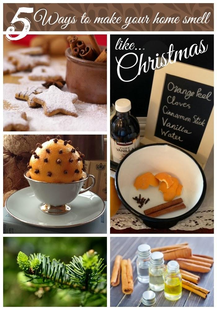 Five Festive Ways To Make Your Home Smell Like Christmas