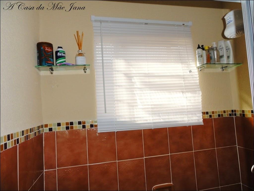 A Casa da Mãe Jana Reformando o banheiro # Banheiro Simples Mas Arrumado