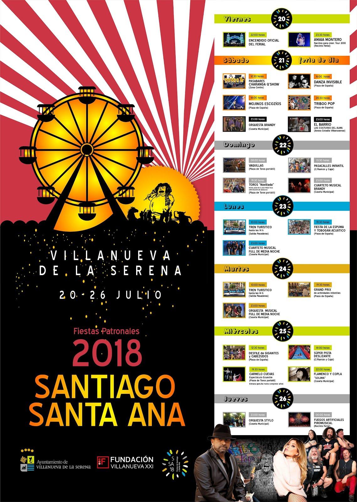 Santiago y Santa Ana 2018