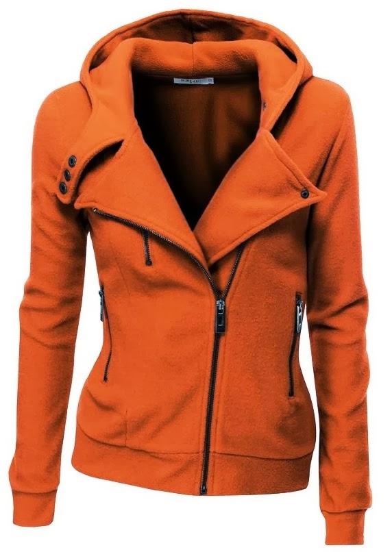 Super Cute Women's Fleece Zip-Up Hoodie