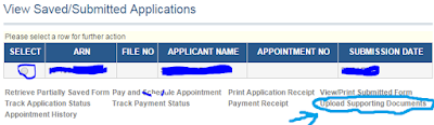 Step 2: Upload the Supporting Documents in online for Passport image