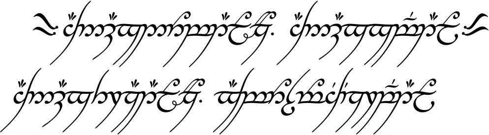 Servitor Ludi Alpha Bytes Tolkien 39 S Elvish