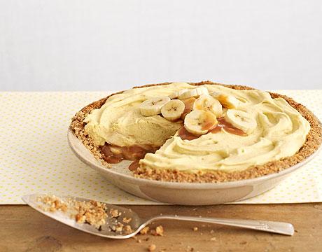Banana Pudding Pie Recipe ~ Easy Dessert Recipes