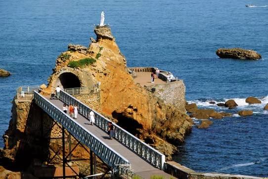 Mil formas de viajar visitar biarritz - Hotel de la plage biarritz 3 esplanade du port vieux ...
