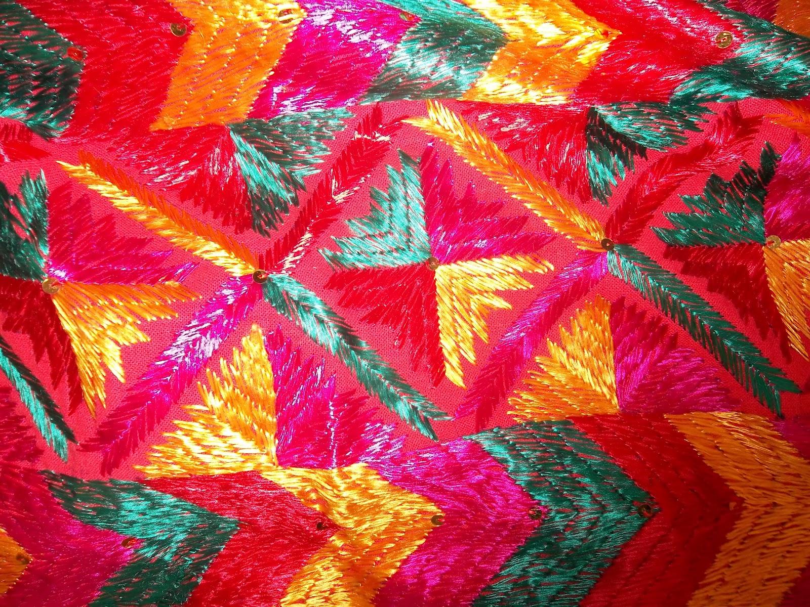 Fulkari cloths