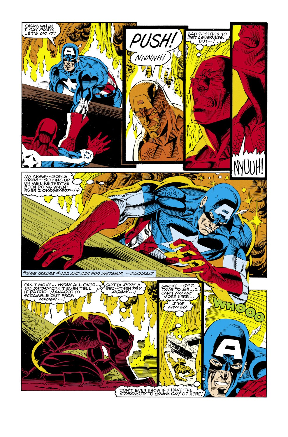 Captain America (1968) Issue #427 #377 - English 23