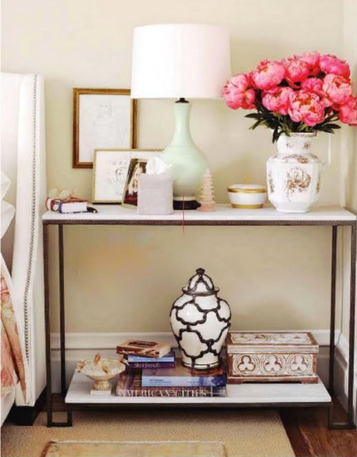tiffany leigh interior design vignette styling 101. Black Bedroom Furniture Sets. Home Design Ideas