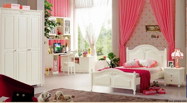 d coration chambre fille 10 ans. Black Bedroom Furniture Sets. Home Design Ideas
