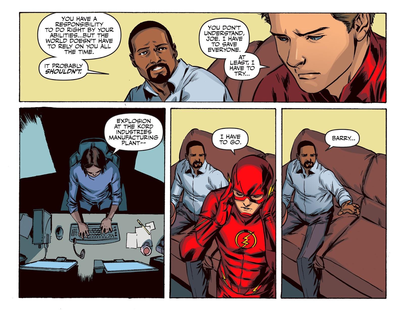 The Flash: Season Zero [I] Issue #20 #20 - English 16