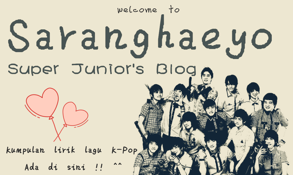 Saranghaeyo Super Junior
