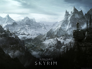 Skyrim wallpaper - Environment