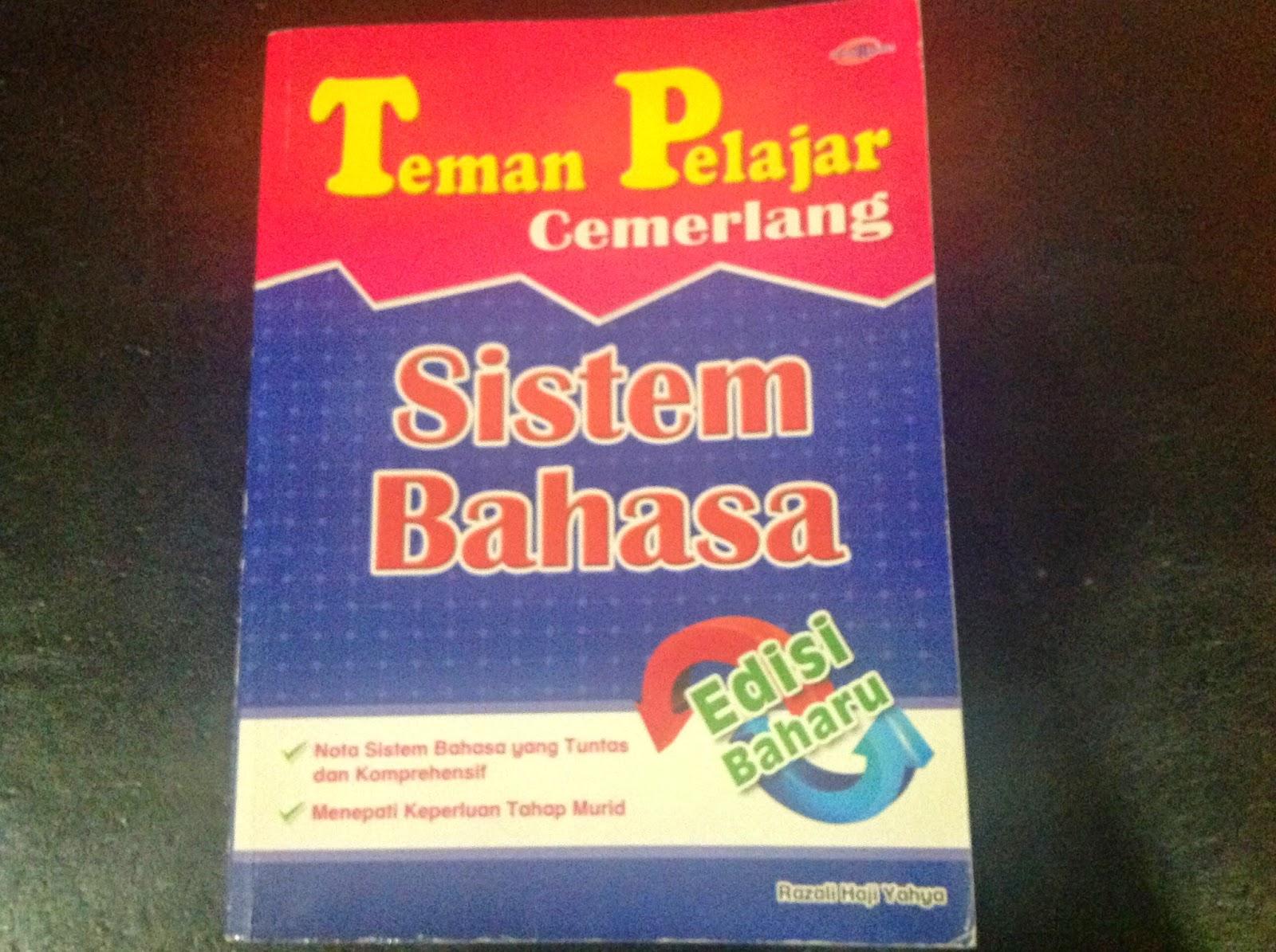 Teman Pelajar Cemerlang Sistem Bahasa (Book Cover)
