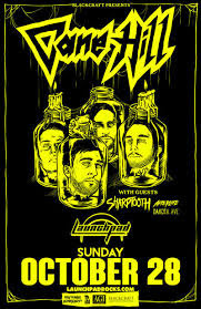 LAUNCHPAD - October 28, 2018 • 7:00 pm - 11:00 pm - Cane Hill * Sharptooth * Afterlife * Dakota Ave