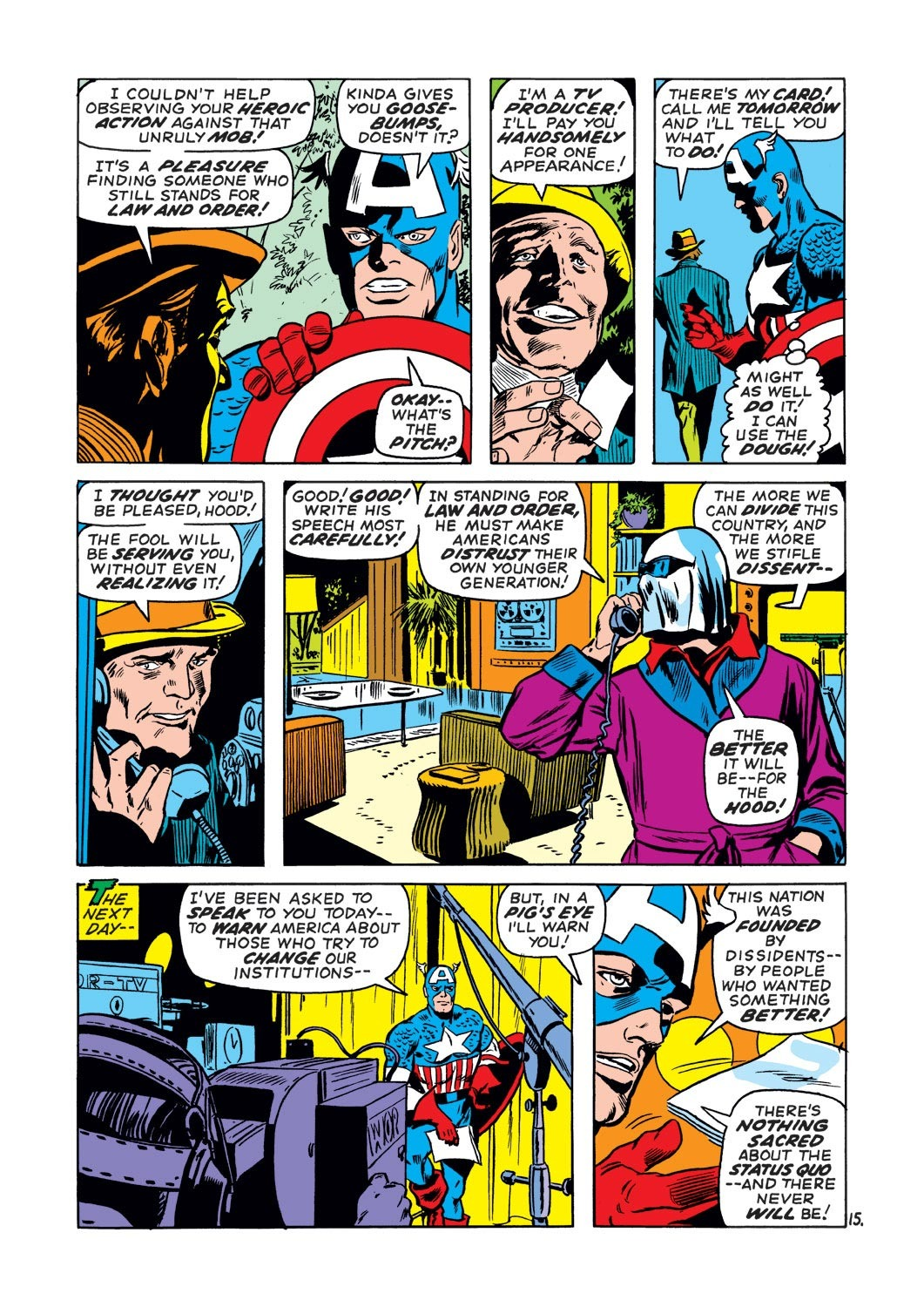 Captain America (1968) Issue #130 #44 - English 15