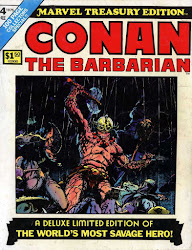 MARVEL TREASURY EDITION #4 CONAN THE BARBARIAN IN RED NAILS!
