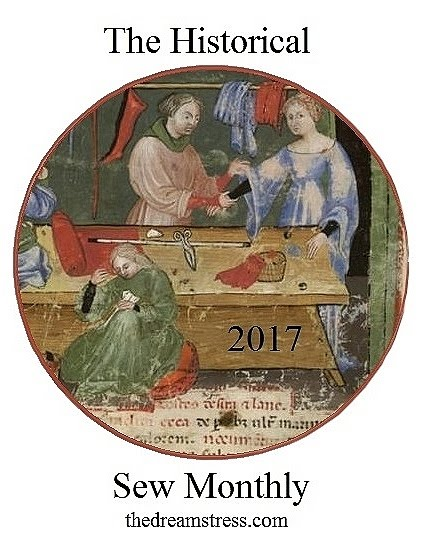 Historical Sew Monthly 2017