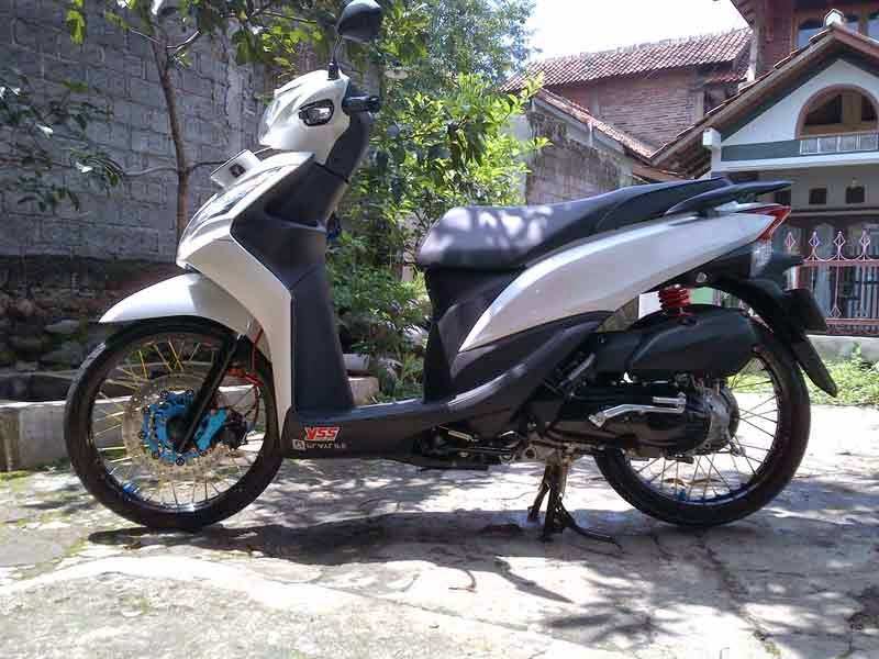 Modif Honda Spacy Velg Jari-Jari