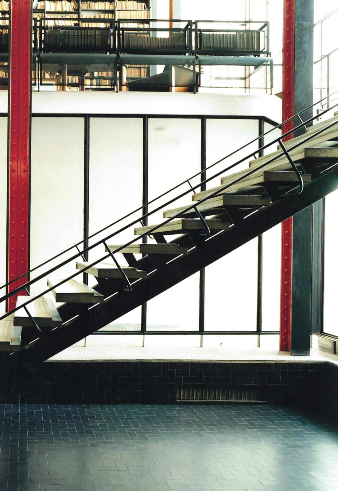 La Maison De Verre Main Staircase