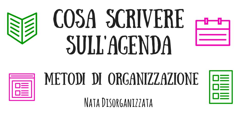 metodi di organizzazione