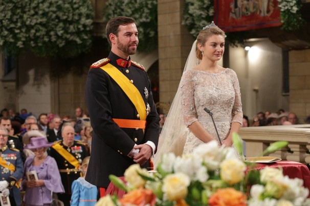 Royal wedding in Luxembourg:Prince Guillaume marries Belgian Countess Stephanie