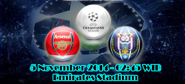 Arsenal Vs Anderlecht