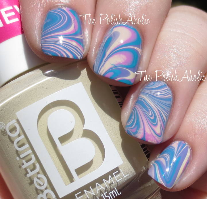 The polishaholic bettina water marble nail art bettina is widely available in puerto rico and several places in florida but outside of that you can order via phone or email for retail locations check prinsesfo Image collections