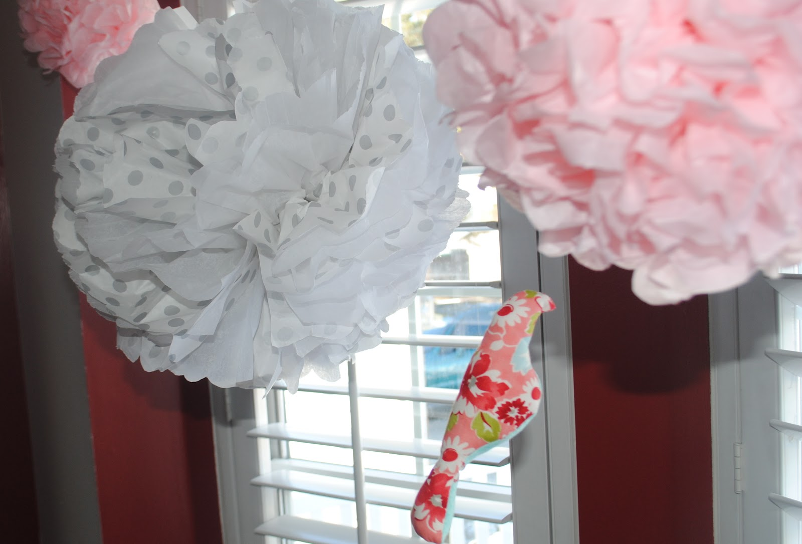 craft envy birdies and bows a baby shower