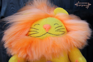 Мои любимые игрушки, лев