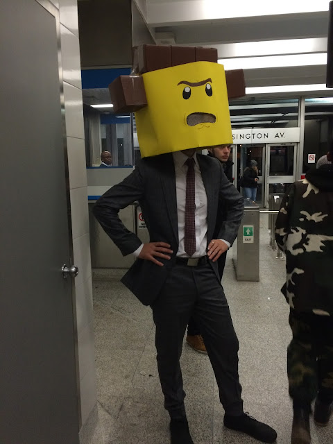 Lord Business costume DIY