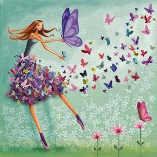 Borboletas são   flores que o vento tirou para dançar.