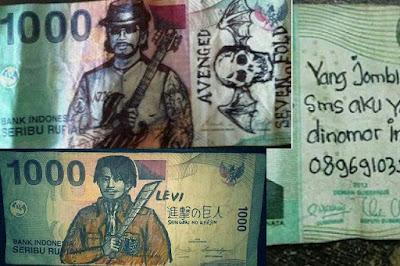 Suka Coret-Coret Uang Rupiah? Penjara 5 Tahun Dan Denda 1 Milyar