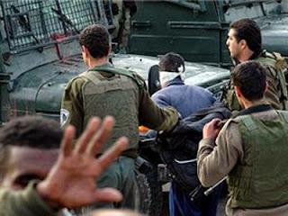 Israel tangkap warga Palestina (arsip bp)