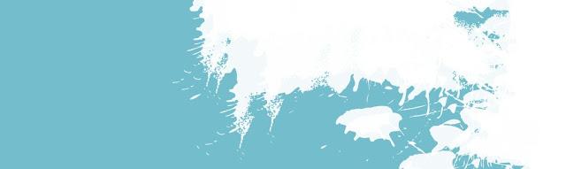 free blue paint  blog header