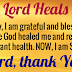 I DECLARE TODAY I AM HEALED AND BLESSED