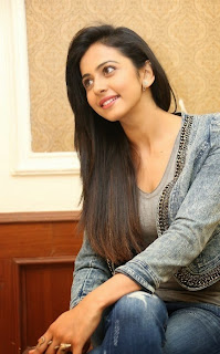 Actress Rakul Preet Singh Pictures in Jeans at Rough Movie Success Meet  7.jpg