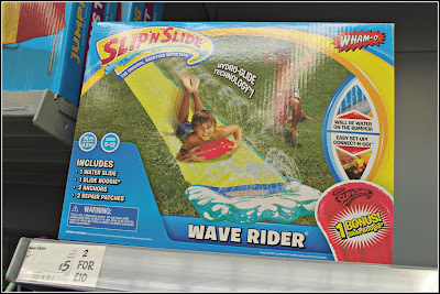 Wave Rider from Asda to give some garden fun