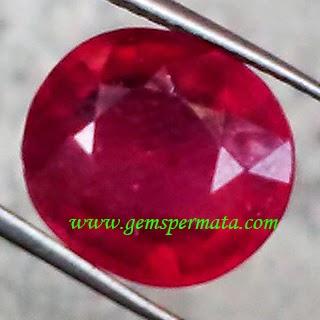Batu Permata Natural Ruby Pigeon Blood