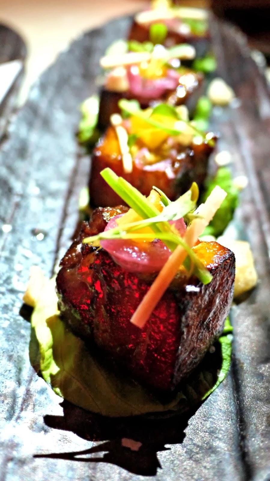 Sushisamba London Review Pork Belly