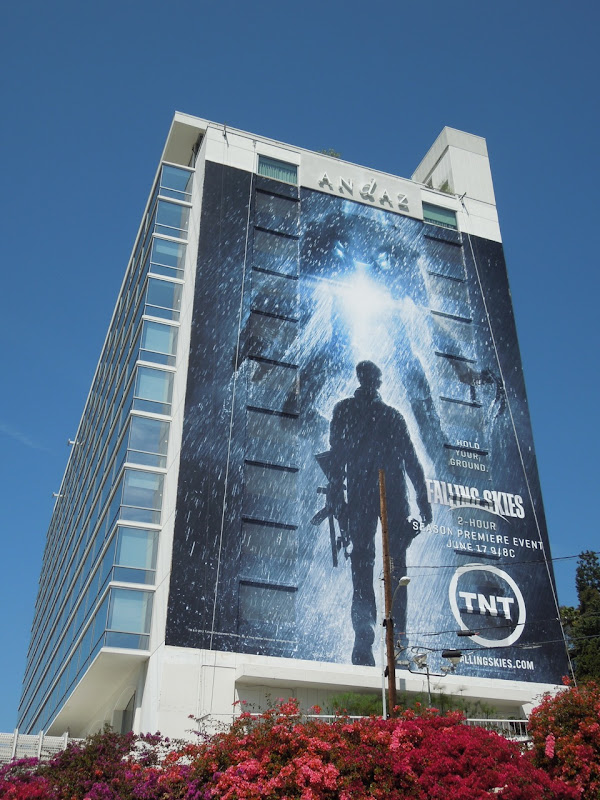 Giant Falling Skies 2 billboard