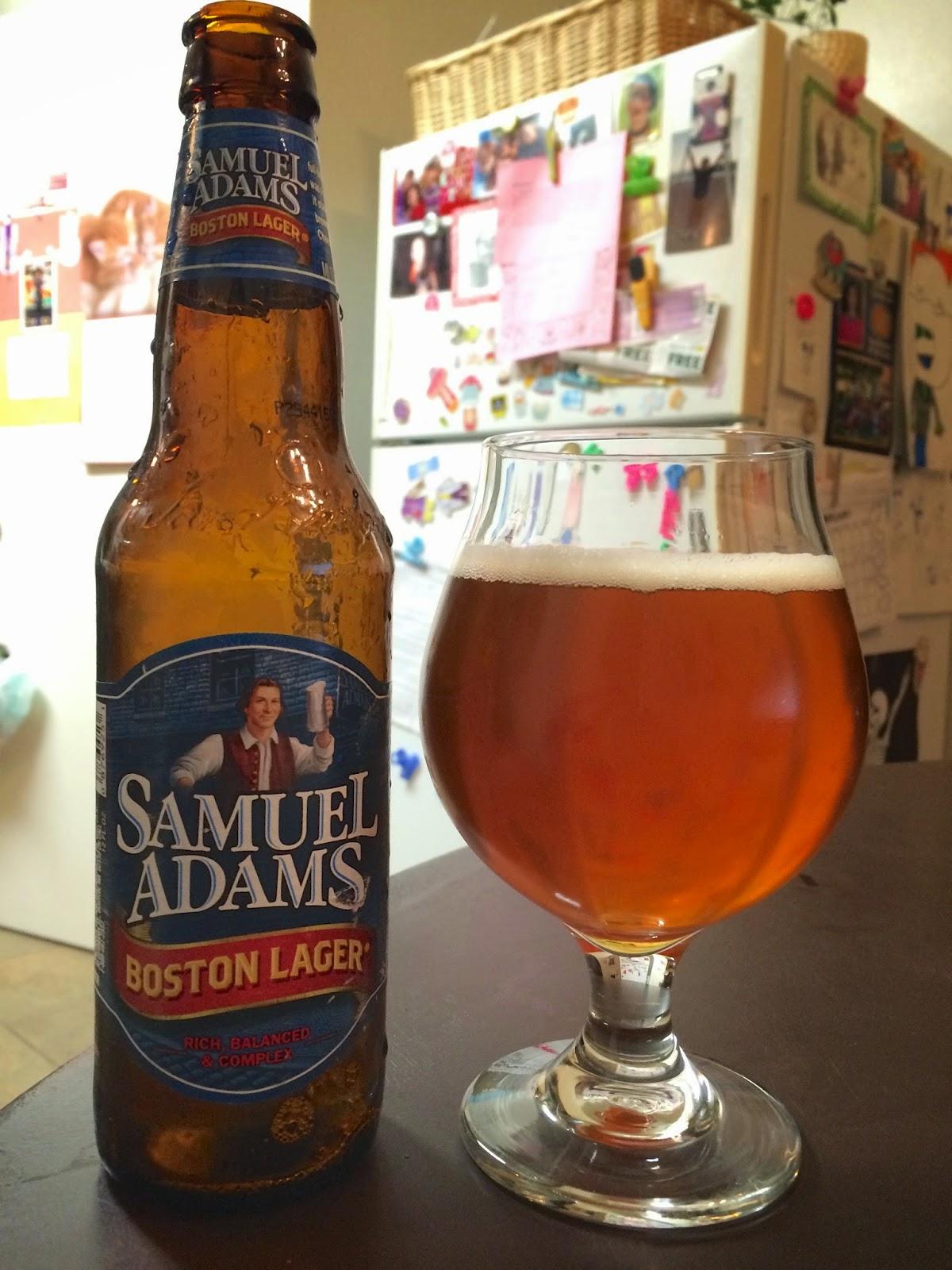 Samuel Adams Boston Lager 1