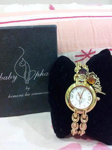 NAK LET GO # ORIGINAL BABYPHAT WATCH GOLD PLATED