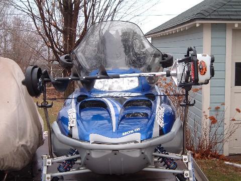 Snowmobile Auger Rack7