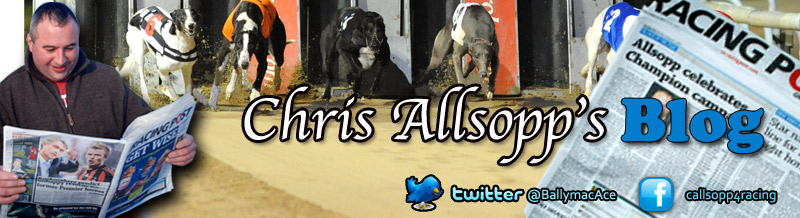 Chris Allsopp Racing Blog